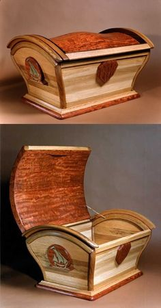10 Cool Wooden Chest Ideas – Woodworking ideas Announcing: The World's Largest Collection of 16.000 Woodworking Plans! tedswoodworking-t...