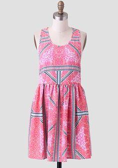 Eastern Aztec Dress By MINKPINK