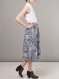 Frances May - Mara Hoffman Gypsy Skirt