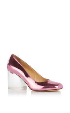 Back To The Future Pump by CHARLOTTE OLYMPIA for Preorder on Moda Operandi