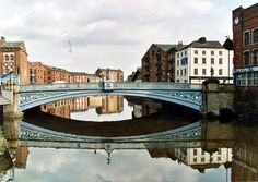 Leeds Bridge Shared by Motorcycle Fairings - Motocc Leeds United Wallpaper, Leeds Beckett, Leeds Art Gallery, Leeds United Fc, Leeds England, Leeds City, Canal Boat, West Yorkshire, Main Street