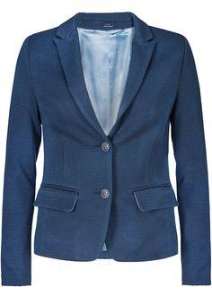 Blazer blå 22207 Jersey Blazer 25 water mirror