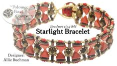 "This video tutorial from The Potomac Bead Company teaches you how to make Allie Buchman's ""Starlight Bracelet"" design. Find a complete list of supplies in th..."