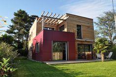 Surélévation maison d'habitation par Hélène Lamboley Architecte DPLG - (26) France