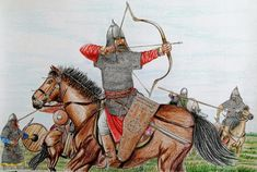 Early Middle Ages, Eastern Europe, Interesting Stuff, Warriors, Camel, Period, Medieval, Costumes, History