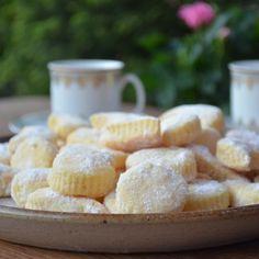 Smetanové vánoční cukroví Cereal, Cooking, Breakfast, Recipes, Food, Baking Center, Kochen, Recipies