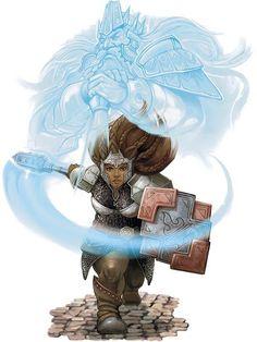 Dwarf, Zwerg, Warrior, Kriegerin, Larp, Female, Frau, Kleric, Priesterin, Mace, Streitkolben, Schild, Shield