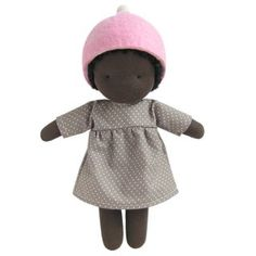 """Doll """"Luz"""", handmade, organic, available at www.nordliebe.com"""