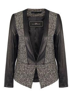 Chium Jacket - Black Blazer. worn by Crown Princess Victoria from By Malene Birger