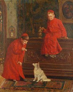 Altar boys par Paul-Charles Chocarne-Moreau