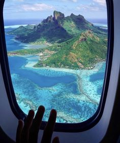 Courtesy of Admins: Bora Bora French Polynesia Tag your best travel photos with Oh The Places You'll Go, Places To Travel, Travel Destinations, Vacation Places, Travel Aesthetic, Travel Goals, Travel Plane, Freedom Travel, Airplane Travel