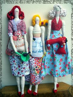 bonecas by O Tacho da Pepa, via Flickr