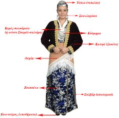 Greek Traditional Dress, Traditional Outfits, Greek Dancing, Greek Dress, Greece Pictures, Greek Culture, Folk Dance, Thessaloniki, Folk Costume