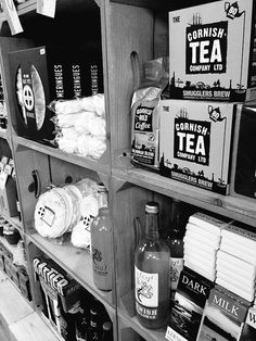 """"""" we are making a big feature on amazing local foods Food Retail, Retail Displays, Tea Companies, Liquor Cabinet, Crates, Catering, Brewing, Dining Room, Foods"""