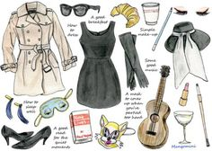 Mangomini- Breakfast at Tiffany's style for Hello Giggles $17.50 on Etsy