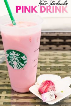 Keto Starbucks Pink Drink LowCarbingAsian Pin 2 The BEST Asian Low-Carb/Keto recipe for Keto Starbucks Pink Drink. Enjoy this delicious simple drink at only Net Carb / Serving. Step by step directions with pictures makes this recipe quick and easy. Starbucks Pink Drink Recipe, Low Carb Starbucks Drinks, Pink Drink Recipes, Pink Starbucks, Low Carb Drinks, Starbucks Recipes, Pink Drinks, Yummy Drinks, Healthy Drinks
