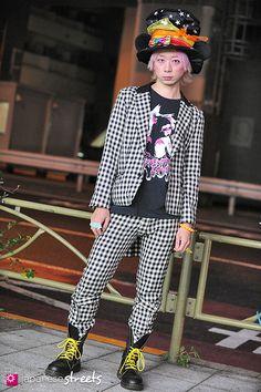 Japanese street fashion in Sangenjaya, Tokyo (Disney, MILKBOY, SHAMPOOOOO, Dr. Martens)