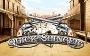 The #QuickSlinger free slots game is one of the options that you can find online.  This video slots game has a #WildWest theme and comes with #special features, such as the High Noon Shootout bonus, a gamble, a #free spins, three wild symbols, and scatters.