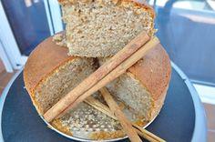 bizcochuelo de canela y harina integral