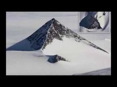 Third Snowy Pyramid Recently Discovered in Antarctica Could Rewrite History - Alien UFO Sightings