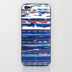 Straight, No Chaser (Music Code Painting) iPhone & iPod Skin by Camilo Nascimento