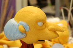 Mr Burns puppet