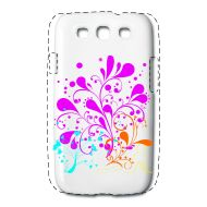 Custodie per cellulari & tablet ~ Case premium per iPhone 4/4S ~ donna fiore