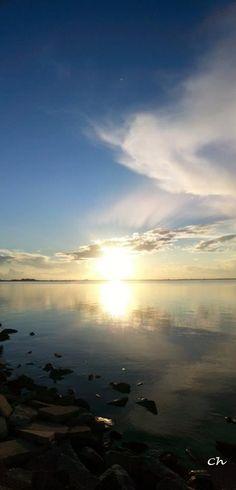 Sunset on the lagoon - Photo by Chiara Nicodemo