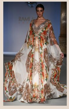 Fusion Indian Wedding Gowns by Rami Al Ali Couture