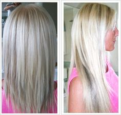 I want my hair back like this!!  blonde with lowlights