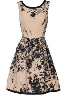 Print full skirted dress from Oasis. Great website full of beautiful modest dresses.