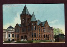 Logansport High School, circa 1910