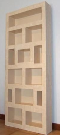 Meubles carton on pinterest cardboard furniture for Meuble carton tuto