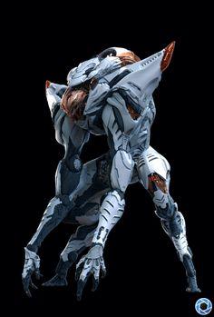 art from Antoine di Lorenzo Alien Concept, Robot Concept Art, Armor Concept, Arte Robot, Robot Art, Arte Tech, Character Concept, Character Art, Zbrush Character