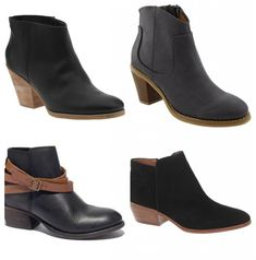 Favorite Ankle Boots for Fall - Hither and Thither
