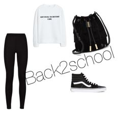 """""""Backtoschool"""" by keiramcevoy on Polyvore featuring Vince Camuto, MANGO and Vans"""