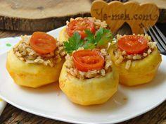 Kıymalı Patates Dolması Resimli Tarifi - Yemek Tarifleri