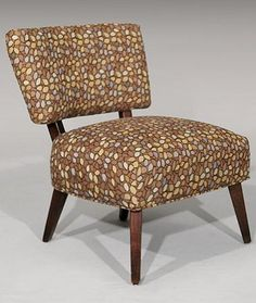 I adore earthy prints. Something about this chair makes me feel soo 1960's.    See naderslp.com for more!