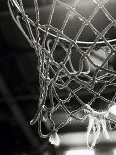 Close-up of a Basketball Net Lámina fotográfica en AllPosters.es