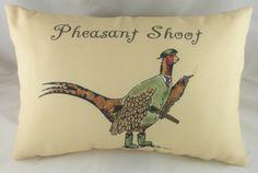Country Life Pheasant Shoot Cushion