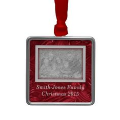 Shop Family Christmas Picture Custom Photo Ornament created by Beachwalker. Picture Frame Christmas Ornaments, Family Christmas Pictures, Photo Ornaments, Christmas 2015, Christmas Gifts, Holiday Festival, Custom Photo, Silver Color, Special Gifts