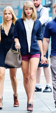 Look of the Day - June 22, 2014 - Taylor Swift in A.L.C. from #InStyle