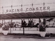 This is a rare view of the frontage of the Dreamland Racing Coaster, probably dating from the mid to late Dreamland Amusement Park, Amusement Parks, Kent Coast, The Good Old Days, Coaster, 1960s, Dating, England, Places