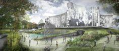 Seis propuestas para el Museo Nacional de la Memoria en Colombia,Ala Solar. Image Cortesía de Célula Arquitectura