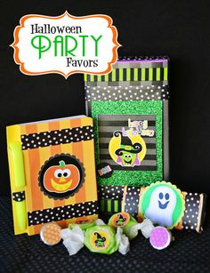 Amanda's Parties To Go: Halloween Party favor ideas.... great for class parties, too!