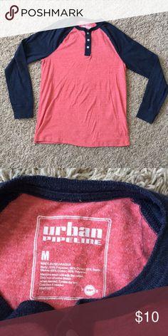 Long sleeve shirt Long sleeve shirt urban pipeline Shirts Tees - Long Sleeve