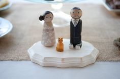 Cake topper - LOVE! :)  SMP Gallery #9932  Little Black Book - Orcutt Ranch Wedding 11/2/12