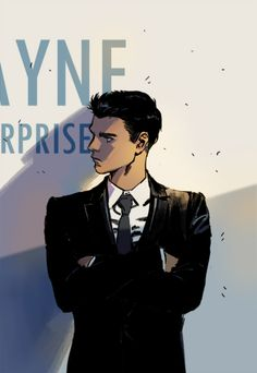 Damian Wayne. Bat Brat.// Funny, but I love Damian. He's a lot more complicated than that.