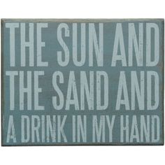 Seaside Inspired - Specializing in Modern Beach Decor: Beach Signs this sign is so @Patrice Rahn