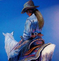 Cowgirl Art | Cowboy & Cowgirl Art on Pinterest | Cowboy Art, Cowboys and Cowgirl